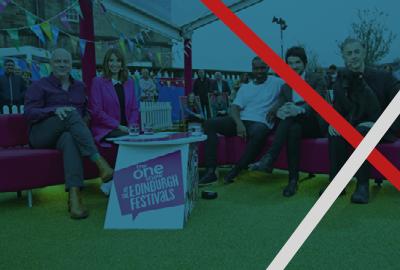 OBE news BBC Fringe Festival banner